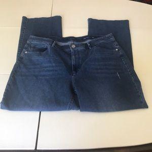 ☀️2/$25☀️ NWT J. Jill kick flare denim ankle jeans